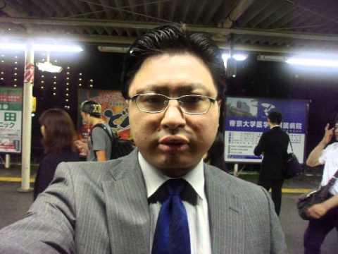GEDC3531 2015.05.29 nikkei ashahi at ichoigaya koujimachi chimuny with radio and TV