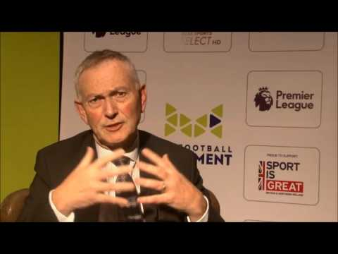 Richard Scudamore at 'The Football Movement' conference