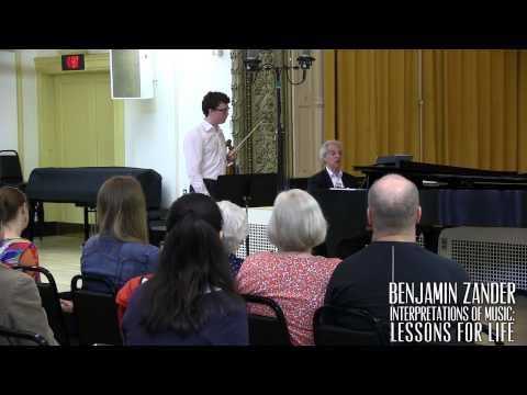Interpretation Class: Bach - Violin Sonata No.1 in G minor