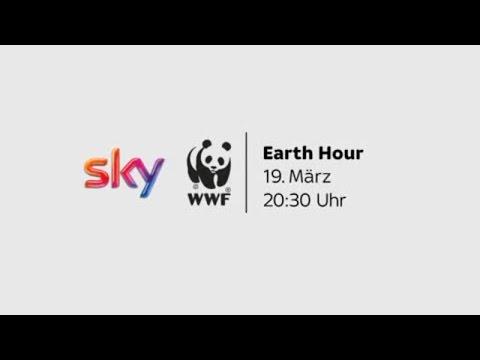 "Sky Gruppe unterstützt die ""Earth Hour"""