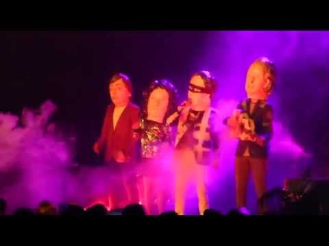 Watch Arcade Fire Bring on Buster Poindexter for 'Hot Hot Hot' Cover
