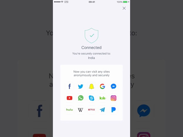 How to use X-VPN  on iPhone and iPad?