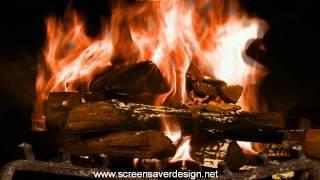 Скринсейвер камин - Screensaver fireplace