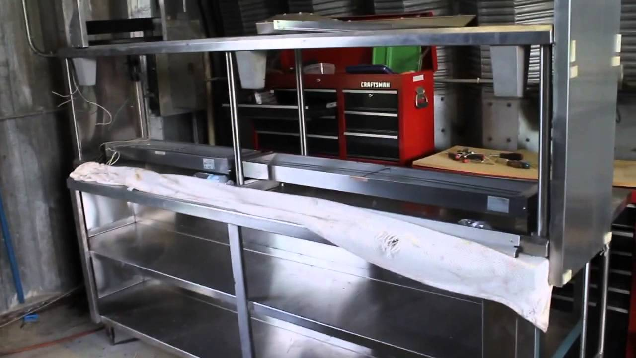 Professional stainless steel kitchen equipment for Sale - YouTube