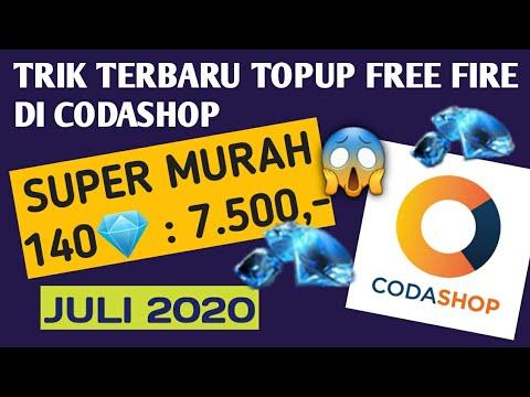 TRIK MURAH CARA TOP UP DIAMOND FREE FIRE DI CODASHOP 2020 ...