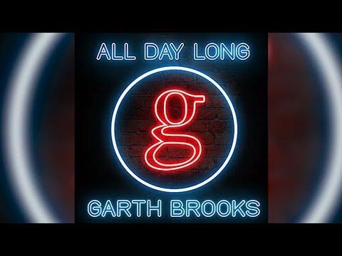 Garth Brooks, 'All Day Long' - A 'Damn Good Honky-Tonk Song'