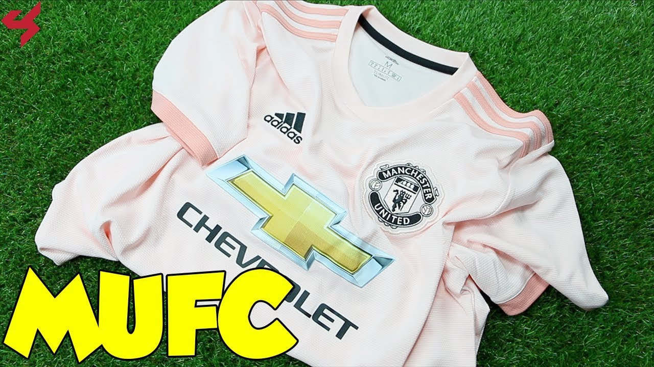 f7053a7d040 Adidas Manchester United 2018/19 Away Soccer Jersey Unboxing + Review