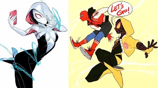30+ Hilariously Funny 🔥 Spider-man: Into The Spider-verse 🔥 Comics To Make You Laugh