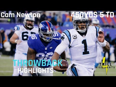Cam Newton Most Overlooked Performance | Throwback Highlights 12.20.2015