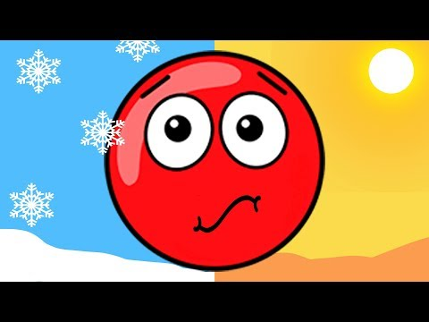 Новый КРАСНЫЙ ШАР #12. 31-32 УРОВНИ.  Мультик ИГРА New Red Ball 2