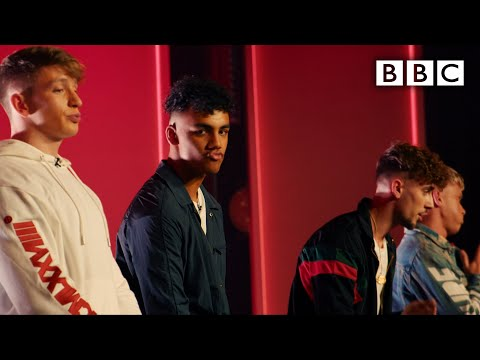 Little Mix reveal our boyband! @Little Mix The Search | Boyband - BBC
