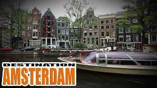 Destination Amsterdam - European Motorcycle Road Trip - Yamaha XT660Z Tenere
