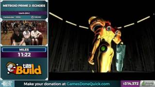 Metroid Prime 2: Echoes by milessmb in 1:40:38 - Awesome Games Done Quick 2017 - Part 58