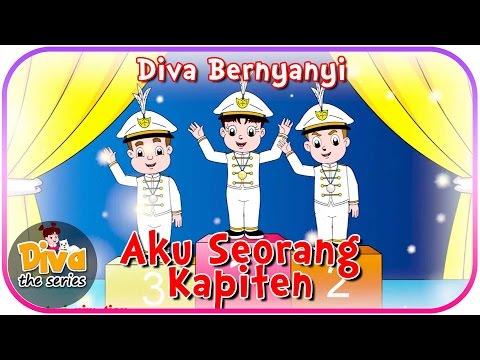 Aku Seorang Kapiten | Diva bernyanyi | Diva The Series Official