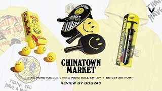"Chinatown Market ""Ping Pong , Smiley Air Pump"" [Review](Thai)"