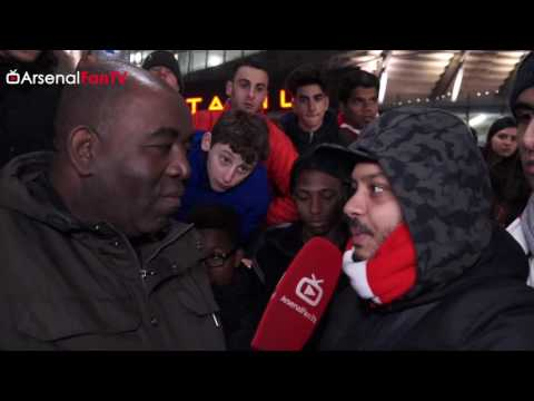 Arsenal 1 West Brom 0 | Stop Saying Wenger Out! - Troopz Clashes With Fan
