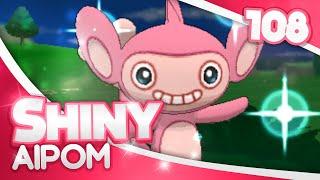pokemon xy shiny hunting 108 1242 fs encounters shiny aipom