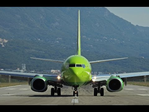 Tivat Airport Ultimate Plane Spotting 40+min Compilation - 2015. (FullHD)