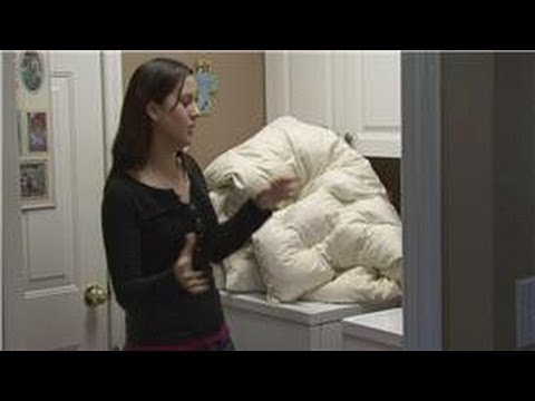Housekeeping Instructions : How to Wash a Down Comforter