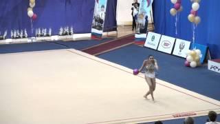 Юлия Синицына, мяч. Чемпионат России 2015, Пенза