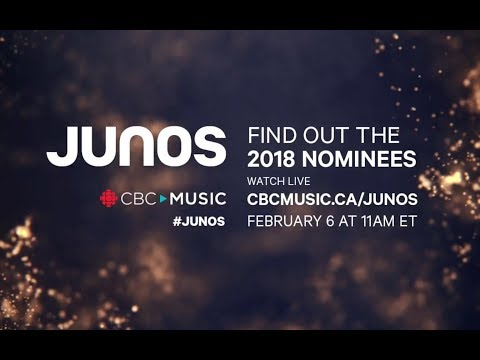 And the nominees are...   Watch The 2018 JUNO Awards Nominee Press Conference