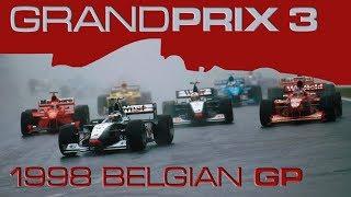 Grand Prix 3 Let's Play - 1998 F1 Belgian Grand Prix