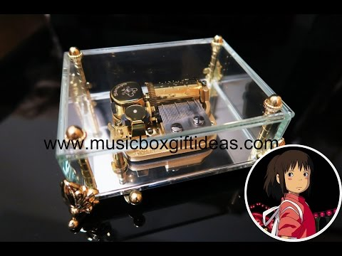 Sankyo 30-Note Wind-up Music Box Studio Ghibli Spirited Away Always with Me (Glass)