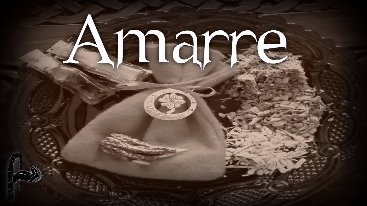 AMARRE - SEGUIDORES DE LO EXTRAÑO