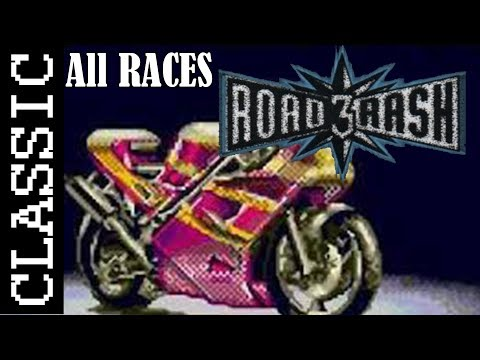 Road Rash 3 - Full Game | All Races