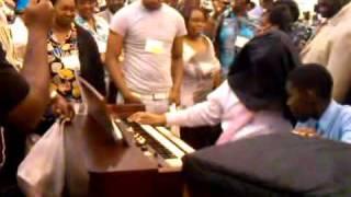 Moses Tyson Jr. Organ Battle