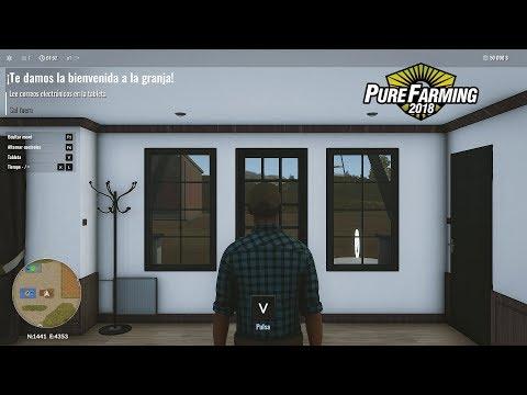 PURE FARMING 2018 | #1 Comenzando y Cosechando