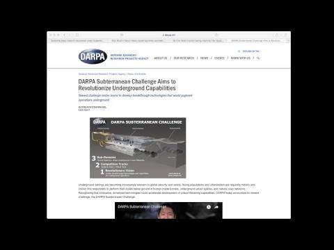Noticias: Ciudad Maya, Elon Musk y Space X, Reto subterráneo DARPA