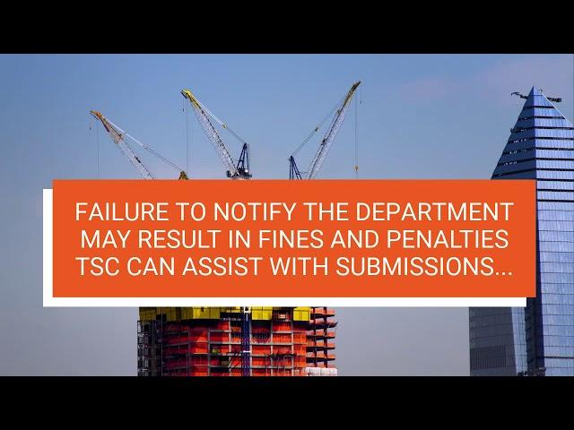 TSC PERFORMS CRANE AUDITS