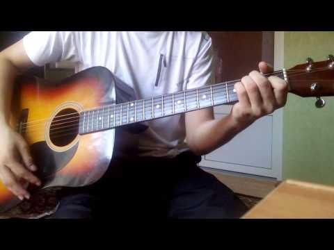 Обучение игре на гитаре. (5) Основные аккорды: Dm, E, G, C, A.