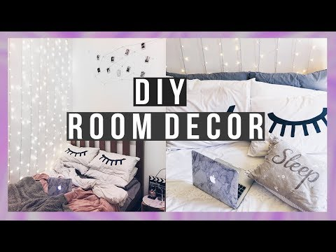 EASY TUMBLR DIY ROOM DECOR