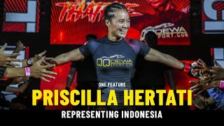 Priscilla Hertati Shoots To Superstardom   ONE Feature