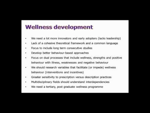 Dr. Dicky Els on Wellness in South Africa