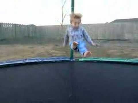 bf0623ef4ba8 Jumping on Trampoline - YouTube