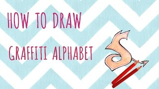 "How To Draw Graffiti Alphabet ""S"""