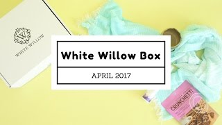 white willow box unboxing april 2017