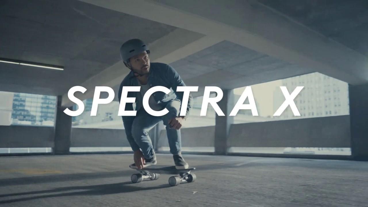 Spectra X skateboard
