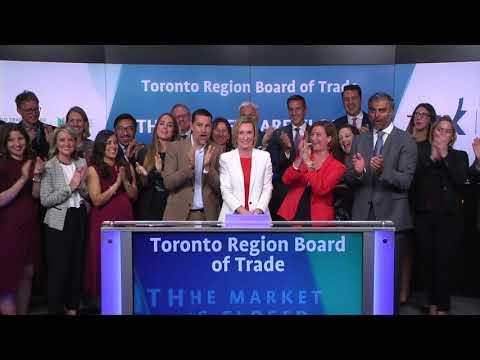 Toronto Region Board of Trade close Toronto Stock Exchange, September 20, 2017