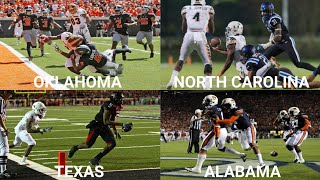 Craziest College Football Play in Every State