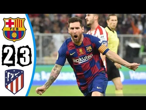 Download Barcelona vs Atletico Madrid 2-3 All Goals & Extended Highlights 2020
