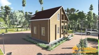 Проект дома из бревна 8х7,5(Адрес: http://www.stroydom-k.ru/proekty/srub-projects/326-s22-dom-iz-brevna-8kh7-5.html., 2015-12-22T14:26:47.000Z)