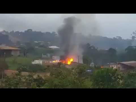 Breaking News-EXPLOSION IN YAOUNDE CAMEROON CAPITAL AHEAD OF ELECTIONS RESULTS