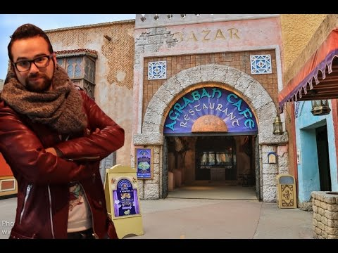 [DISNEY] AGRABAH CAFE - Restaurant Disneyland Paris - YouTube
