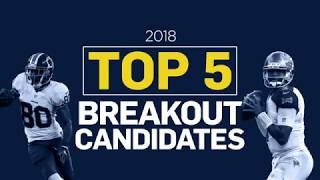Top 5 Fantasy Football Breakout Candidates (2018)
