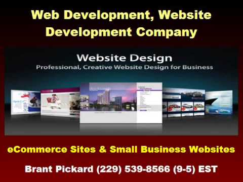 Web Development Company, Valdosta Georgia, Brant Pickard (229) 539-8566