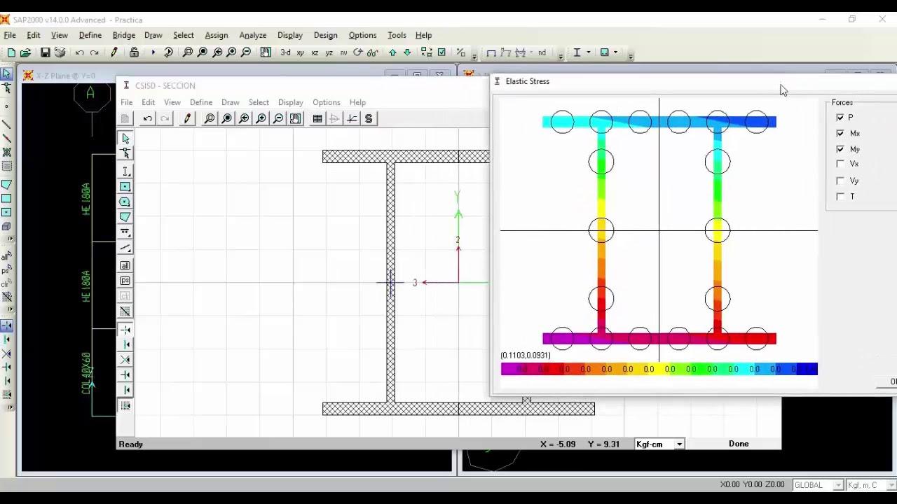 Uso Del Módulo Section Designer Sap2000